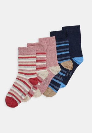ONLINE CHILDREN SOCKS  5 PACK - Sukat - winter berry