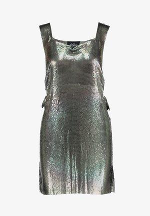 DUA LIPA X PEPE JEANS - Cocktail dress / Party dress - silver