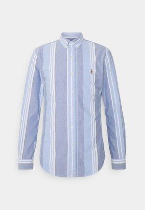 OXFORD SLIM FIT - Koszula - blue/white