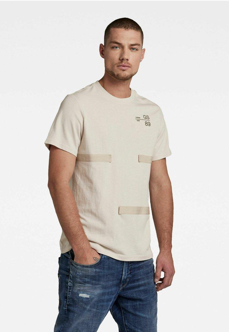 G-Star - T-shirt basic - whitebait