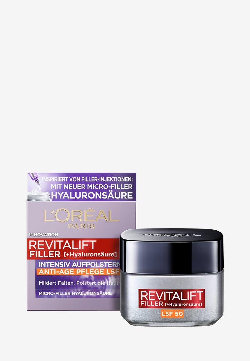 L'Oréal Paris Skin - REVITALIFT FILLER ANTI-AGE DAY CREAM SPF50 - Anti-Aging - -