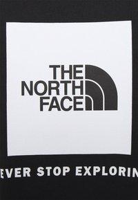 The North Face - REDBOX TEE - T-shirt med print - black - 5