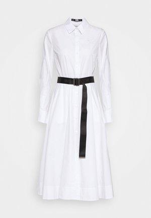 A-LINE DRESS - Day dress - white