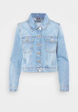 VMMIKKY SHORT JACKET - Denim jacket - light blue denim