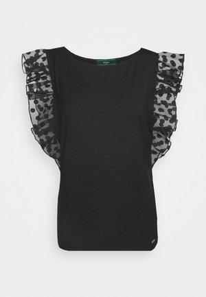 ENZA - Camiseta estampada - jet black