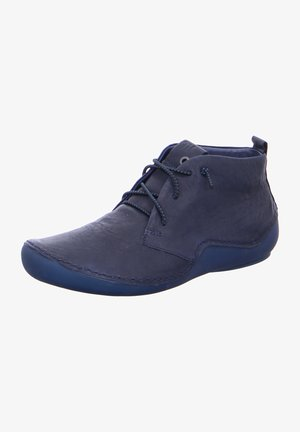 Lace-up ankle boots - ocean
