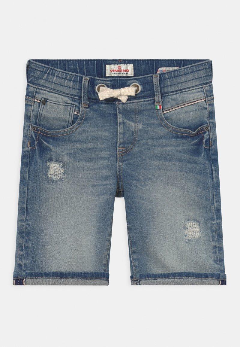 Vingino - CECARIO - Shorts - blue denim