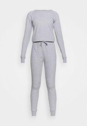 CREW NECK - Jumpsuit - light grey