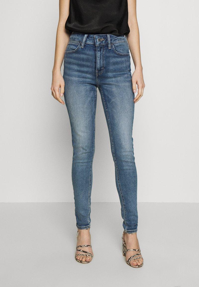 Topshop - ZED  - Jeans Skinny Fit - blue denim