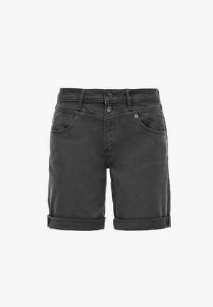 BERMUDA - Short en jean - dark grey