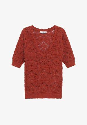 Print T-shirt - rood