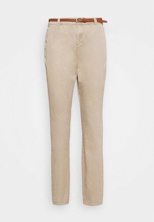 VMFLASH BELT COLOR PANT - Pantalones - silver mink