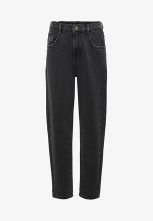 KONSAGA  - Jean droit - black denim