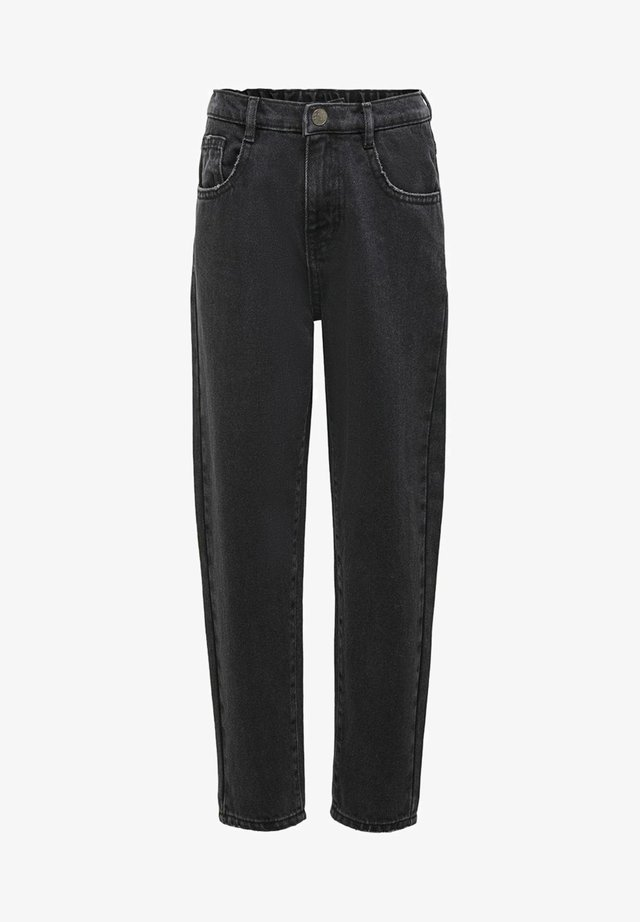 KONSAGA  - Straight leg jeans - black denim