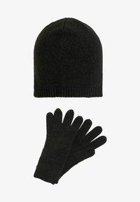 Vila - SET 2 - Gloves - black - 1