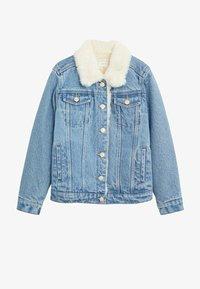 Mango - LISA - Veste en jean - middenblauw - 0