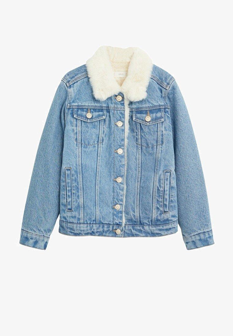 Mango - LISA - Veste en jean - middenblauw