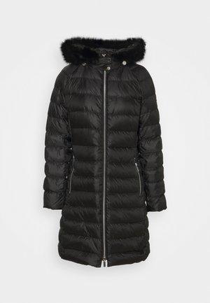 LONG PUFFER - Down coat - black