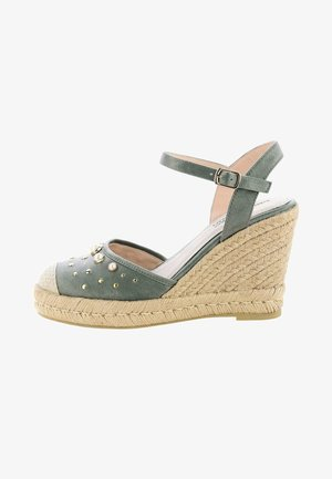 PARAVATI - High heeled sandals - green