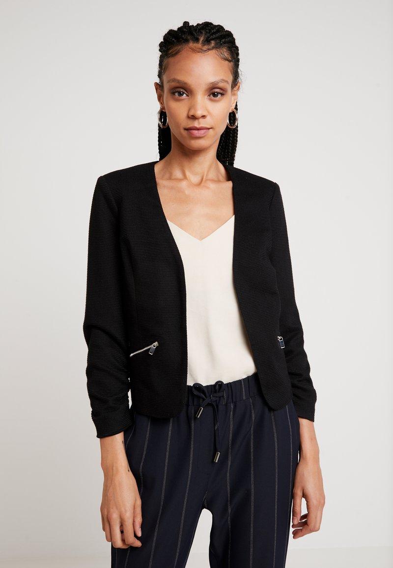 Vero Moda - VMINEZ 3/4 ZIP - Blazer - black