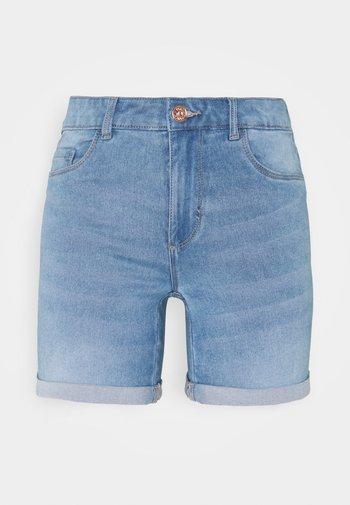 ONLROYAL LIFE - Shorts di jeans - light blue denim