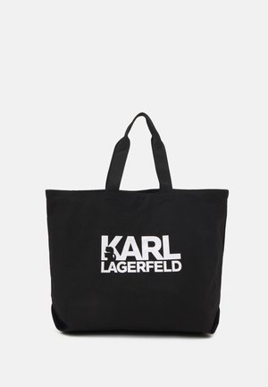 EXCLUSIVE WRITING - Shopping Bag - black