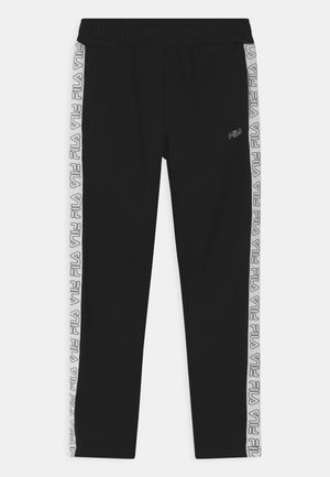 JANUS TAPED - Tracksuit bottoms - black