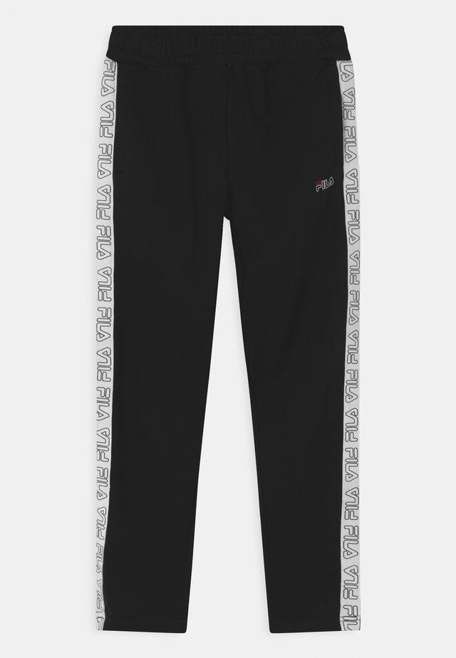 JANUS TAPED - Teplákové kalhoty - black