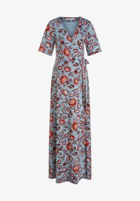 Oui - Maxi dress - turquoise/red - 3