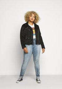 ZAY - LONG - Jeans Skinny - light blue denim - 1