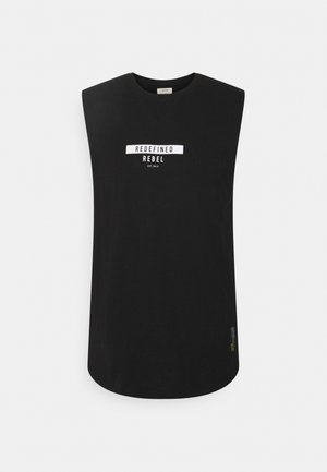 PHILIP TANK - Top - black