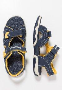 Timberland - ADVENTURE SEEKER 2 STRAP - Walking sandals - navy/yellow - 0