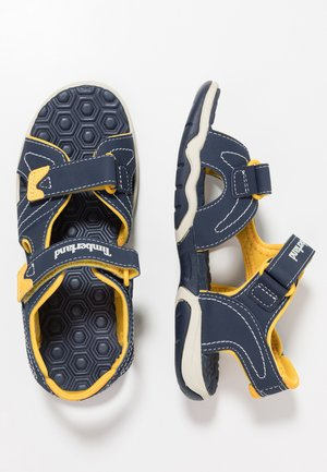 ADVENTURE SEEKER 2 STRAP - Sandalias de senderismo - navy/yellow