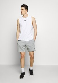 Under Armour - UA CHARGED - Funktionsshirt - white/black - 1