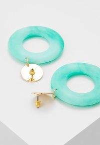 Topshop - PASTEL DROP - Boucles d'oreilles - turquoise - 3