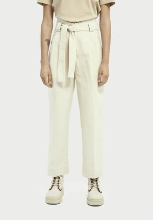TWILL  - Trousers - ecru