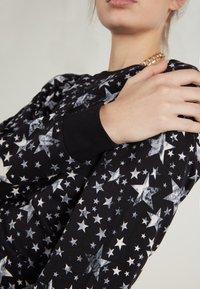 Tezenis - Long sleeved top - schwarz - 039u - black mix print - 3