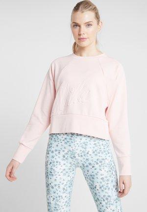 DRY GET FIT LUX - Sweatshirt - echo pink/white