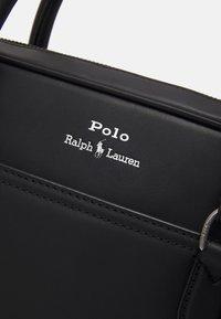 Polo Ralph Lauren - SMOOTH COMMUTER UNISEX - Portafolios - black - 4