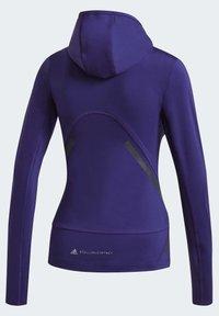 adidas by Stella McCartney - TRUEPACE HOODED LONG SLEEVE MIDLAYER TOP - Bluza z kapturem - purple - 7