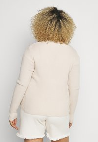 Missguided Plus - SKINNY CARDIGAN - Cardigan - beige - 2