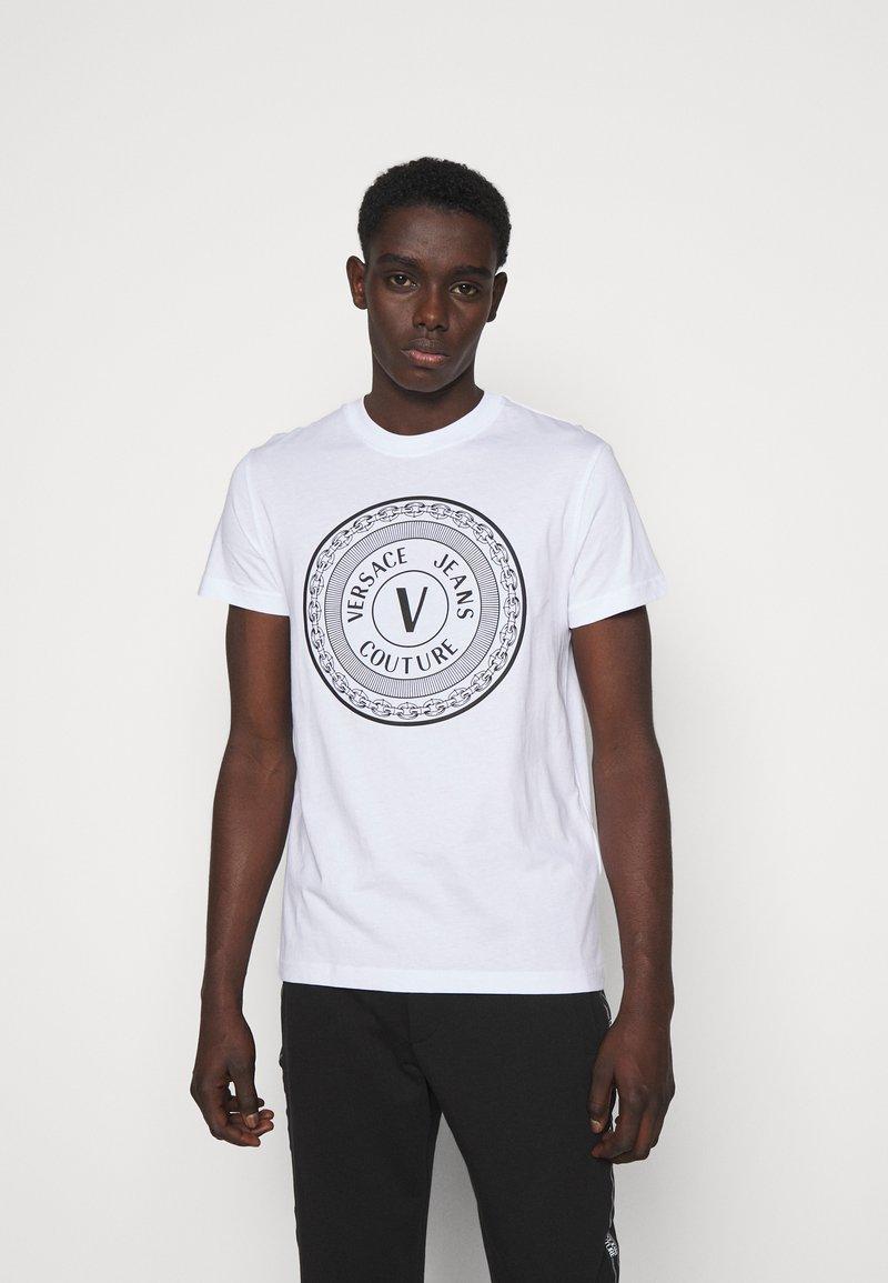 Versace Jeans Couture - MOUSE - Camiseta estampada - white