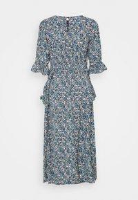 Dorothy Perkins - DITSY MIDI FRILL DRESS - Denní šaty - blue - 8