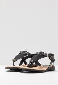 Grand Step Shoes - FLORA - T-bar sandals - black - 4