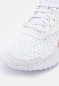 Reebok - ENERGEN LITE - Neutral running shoes - footwear white/blush metal/core black - 5