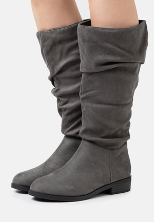 WIDE FIT COUCH - Bottes - mid grey