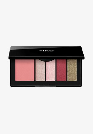 SMART EYES AND CHEEKS PALETTE - Eyeshadow palette - 04 burgundy expression