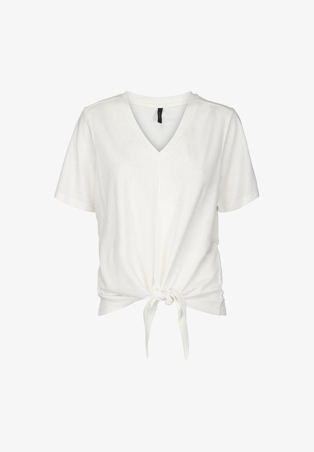 MABLE TEE - T-shirt con stampa - gardenia
