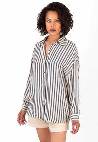 Ro&Zo - Button-down blouse - black - 0