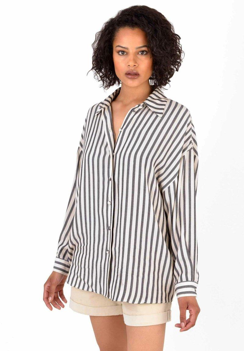 Ro&Zo - Button-down blouse - black